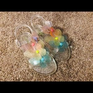 Size 10 Girls Jelly Sandals